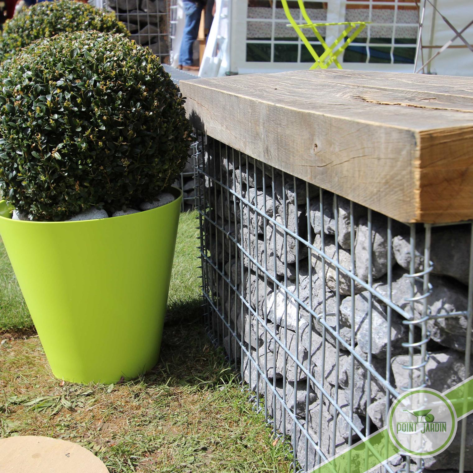 gabions point jardin. Black Bedroom Furniture Sets. Home Design Ideas