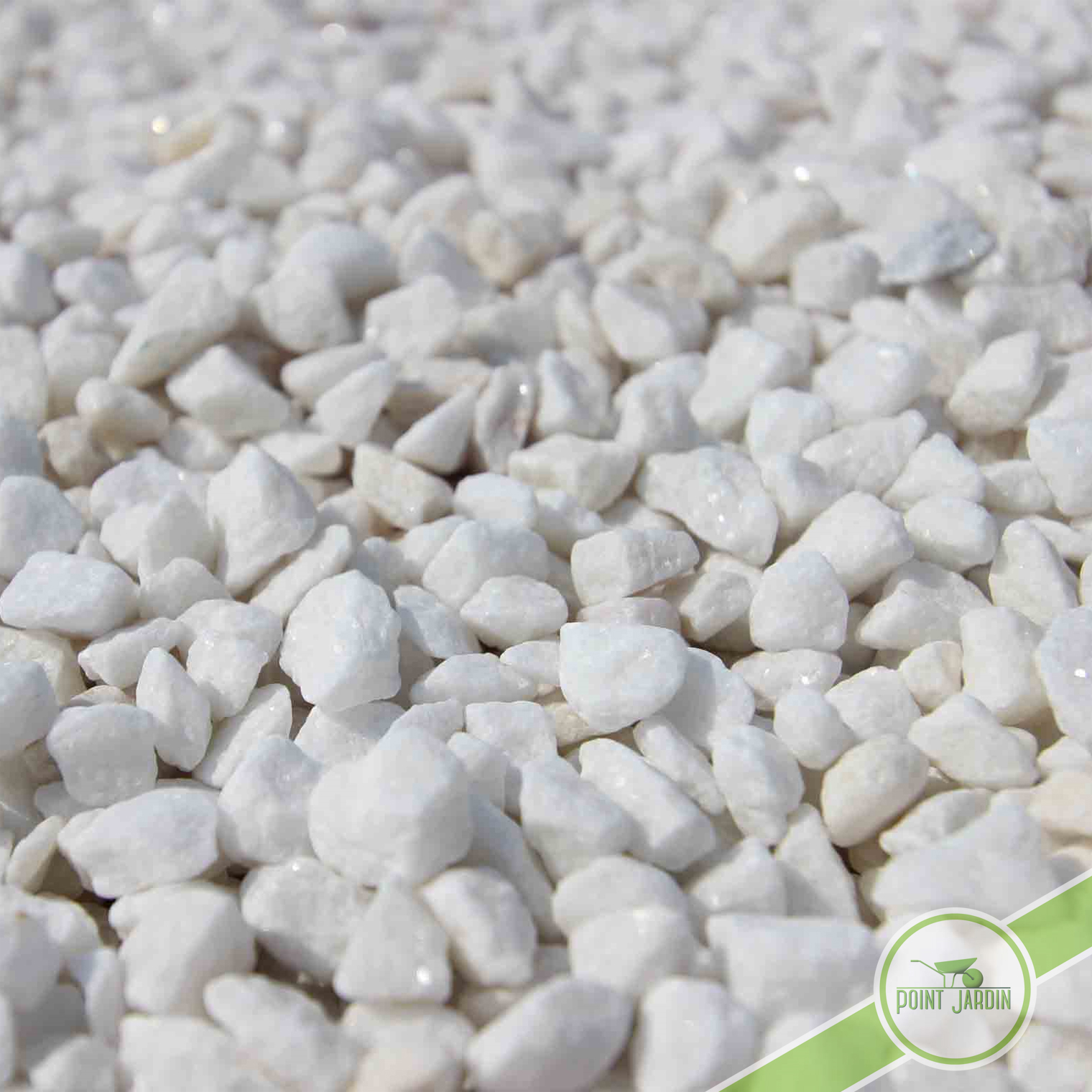 Jardin gravier blanc gravier blanc marbre dreux houdan for Gravier en marbre blanc