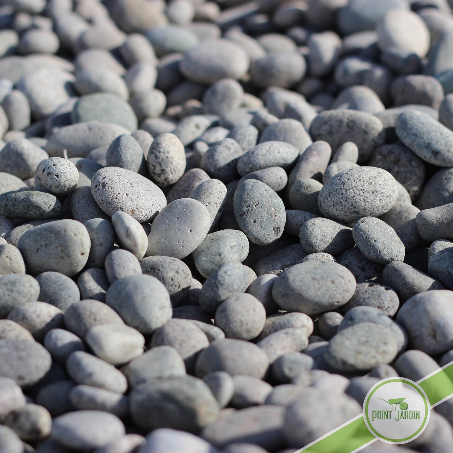 galet granit tachet 10 30 gris pour jardin contemporain