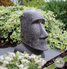 Moai ile de paques statue