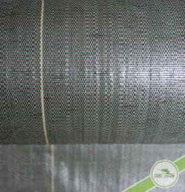 Toile tissée de paillage verte