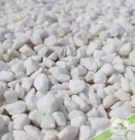 Gravier blanc marbre 8/12 dreux houdan