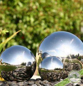 shere boule inox pour jardin